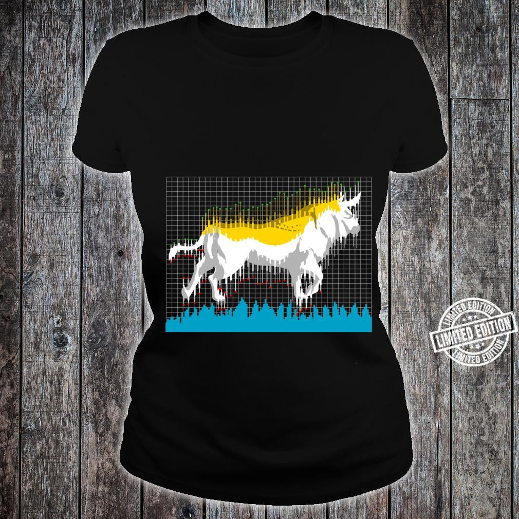 Bull Investor Stock and Cryptocurrency Shirt ladies tee