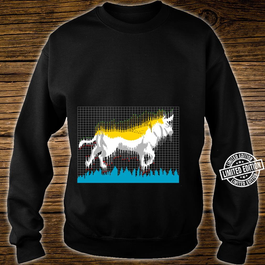 Bull Investor Stock and Cryptocurrency Shirt sweater