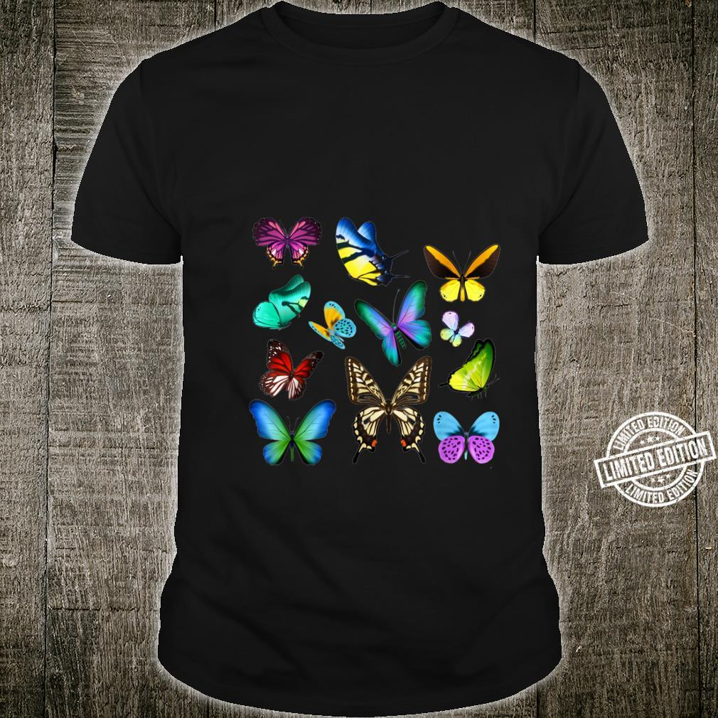 Butterfly Colorful Entomologist Science Shirt