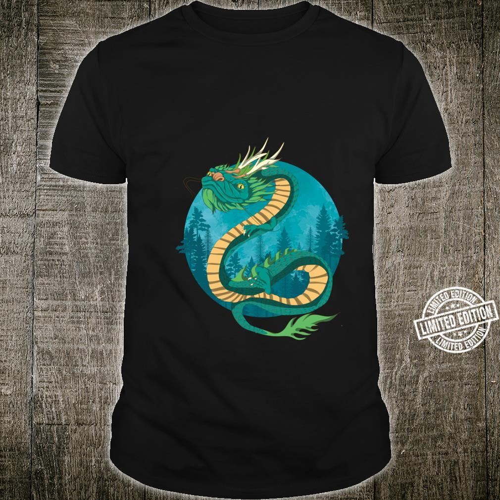 China Asian Culture Mythical Creature Nature Chinese Dragon Shirt