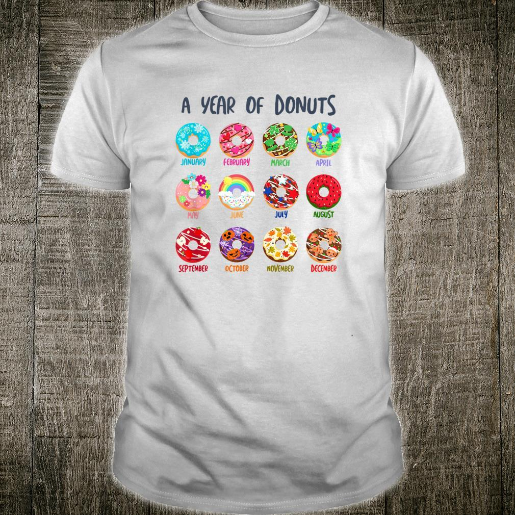 Cute Colorful Donuts Sprinkles Seasons Frosting Decoration Shirt