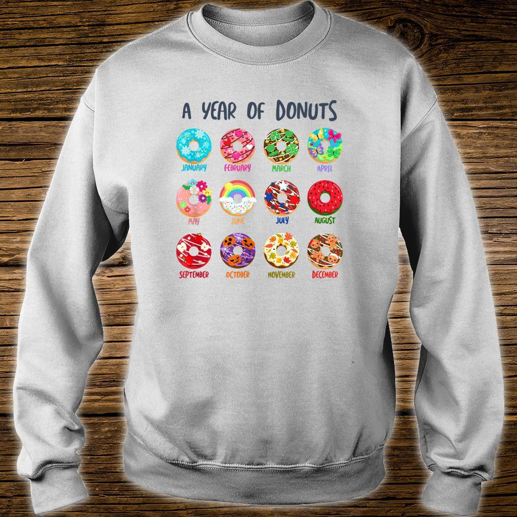 Cute Colorful Donuts Sprinkles Seasons Frosting Decoration Shirt sweater