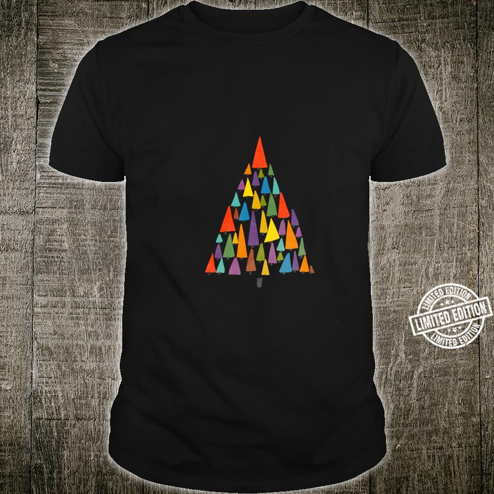 Fun Chirstmas Tree for a Unique Holiday, unisex Shirt
