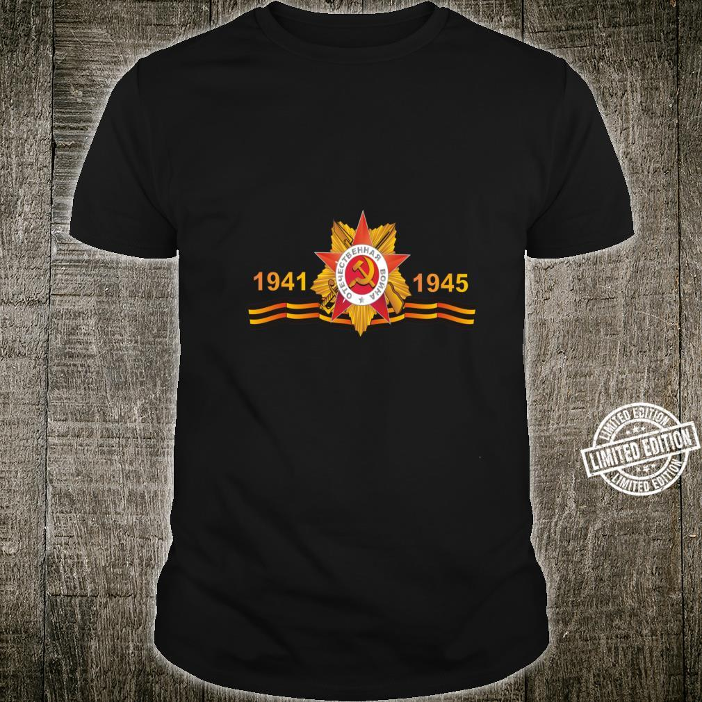 May 9th Red Army WWII Victory Day Tribute Shirt