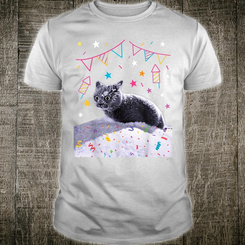 Party Animal Party Birthday Cat crazy Cat Shirt