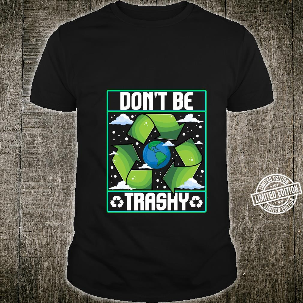 Recycle Inspired Recycling Related Shirt