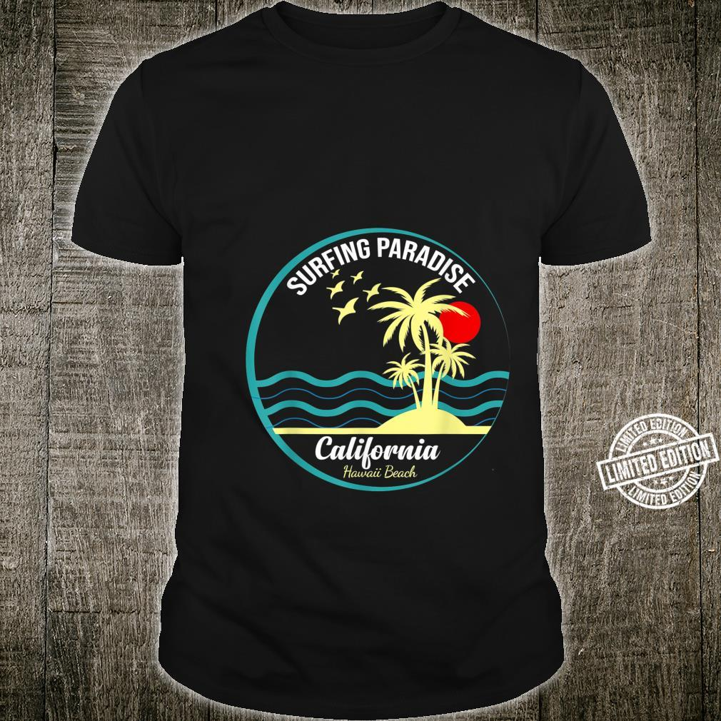 Surfing Paradise California Design for a Surfer Shirt