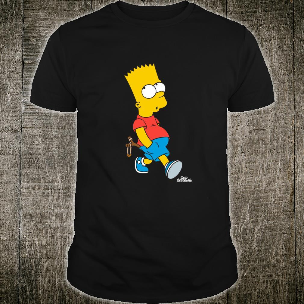 The Simpsons Bart Simpson With Slingshot Shirt