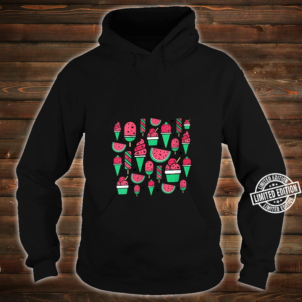Watermelon Summer Popsicle Ice Lolly Ice Cream Cone Cute Shirt hoodie