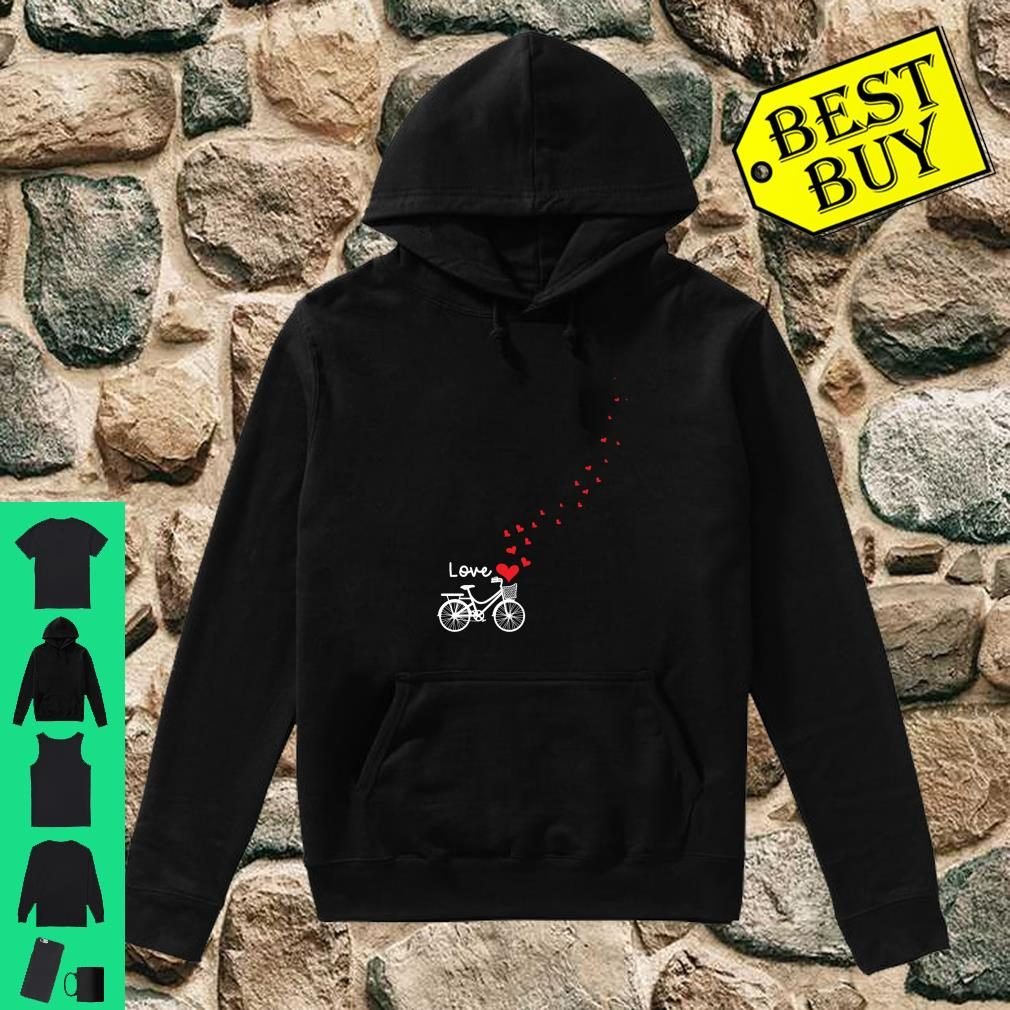 Cute Bicycle Love Sweetest Day Valentines Day Shirt hoodie