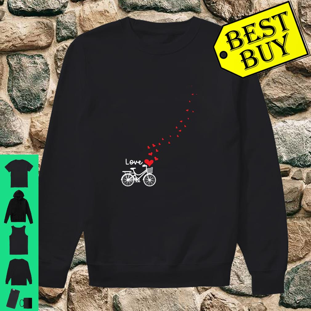 Cute Bicycle Love Sweetest Day Valentines Day Shirt sweater