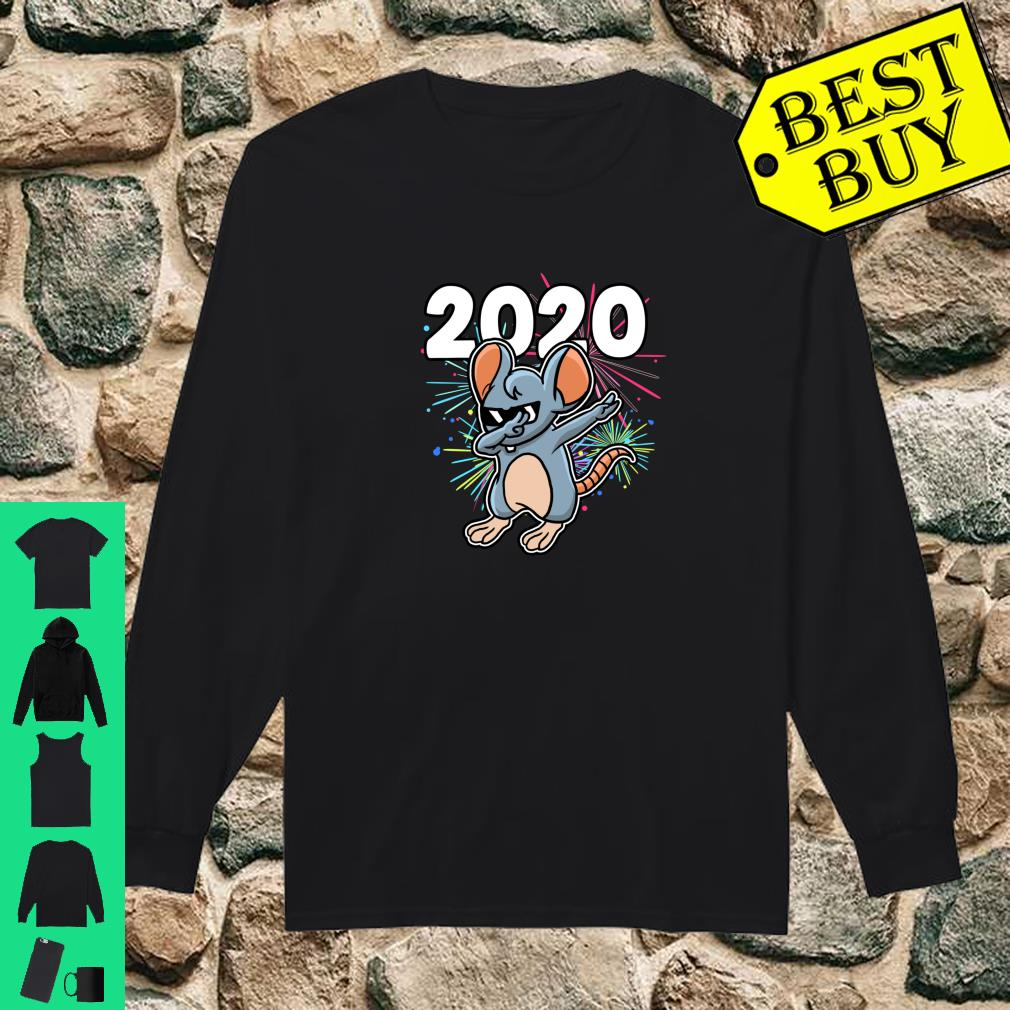Dabbing Rat Year Of The Rat Happy Chinese New Year 2020 Shirt long sleeved