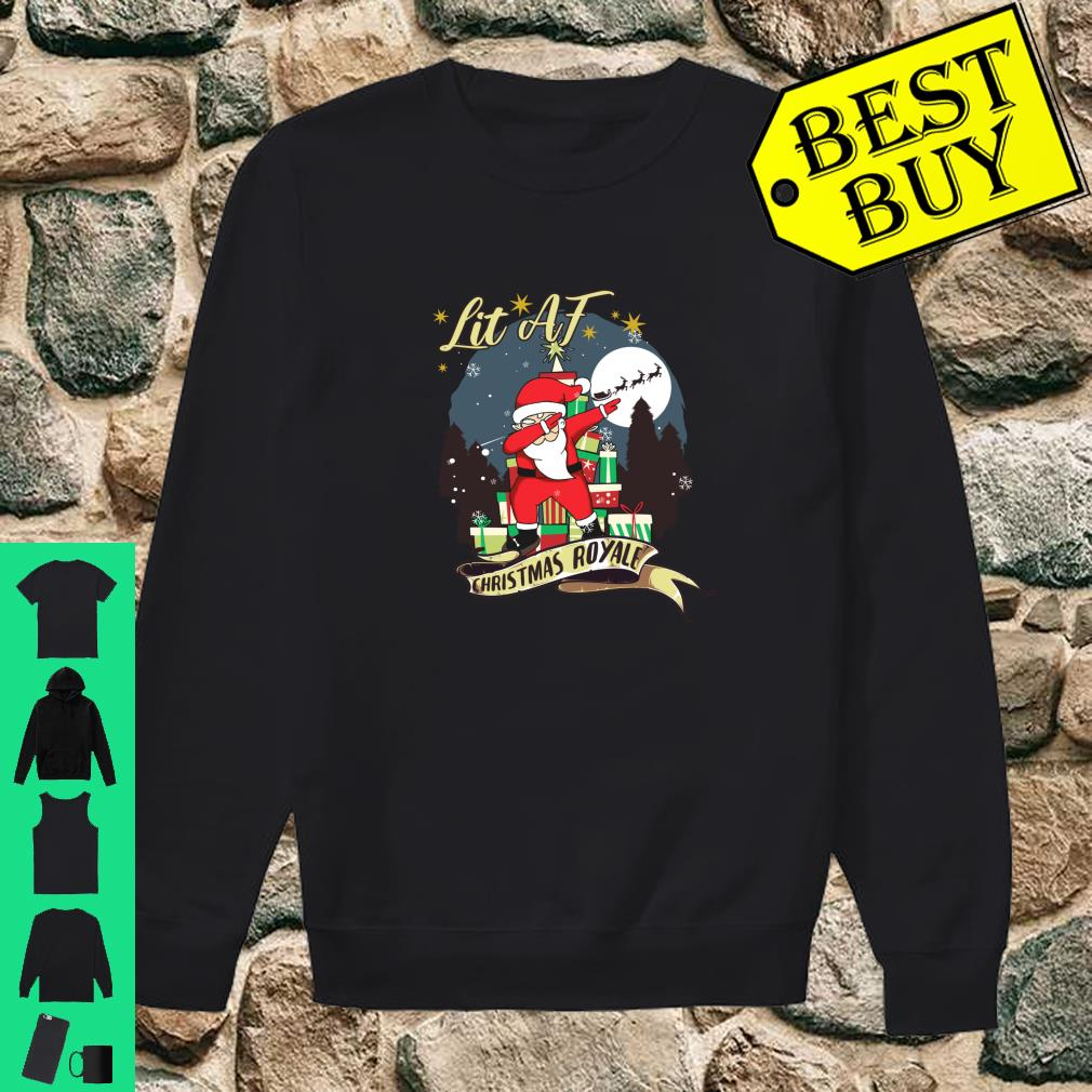 Dabbing Santa claus Christmas Christmas Shirt sweater