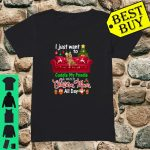 I Want To Cuddle My Poodle Watch Christmas Movies shirt ladies tee