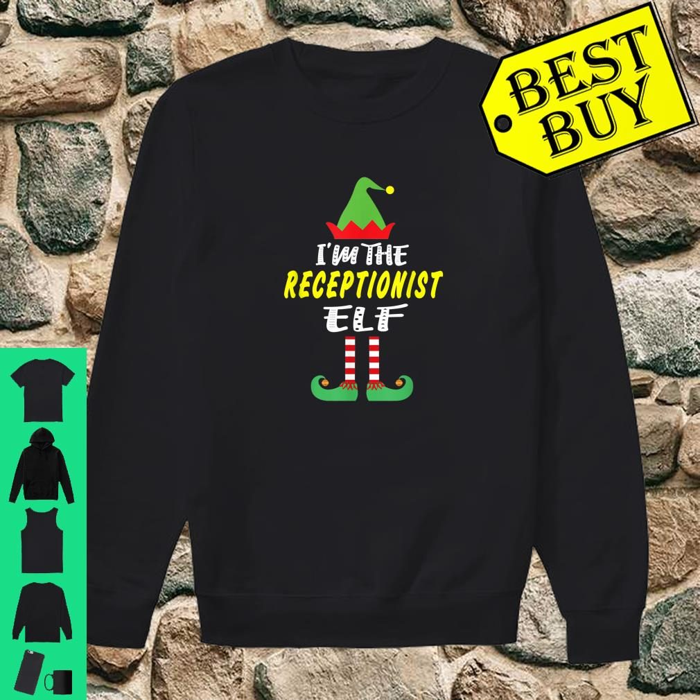 I'm The Receptionist Elf Matching Group Christmas Shirt sweater