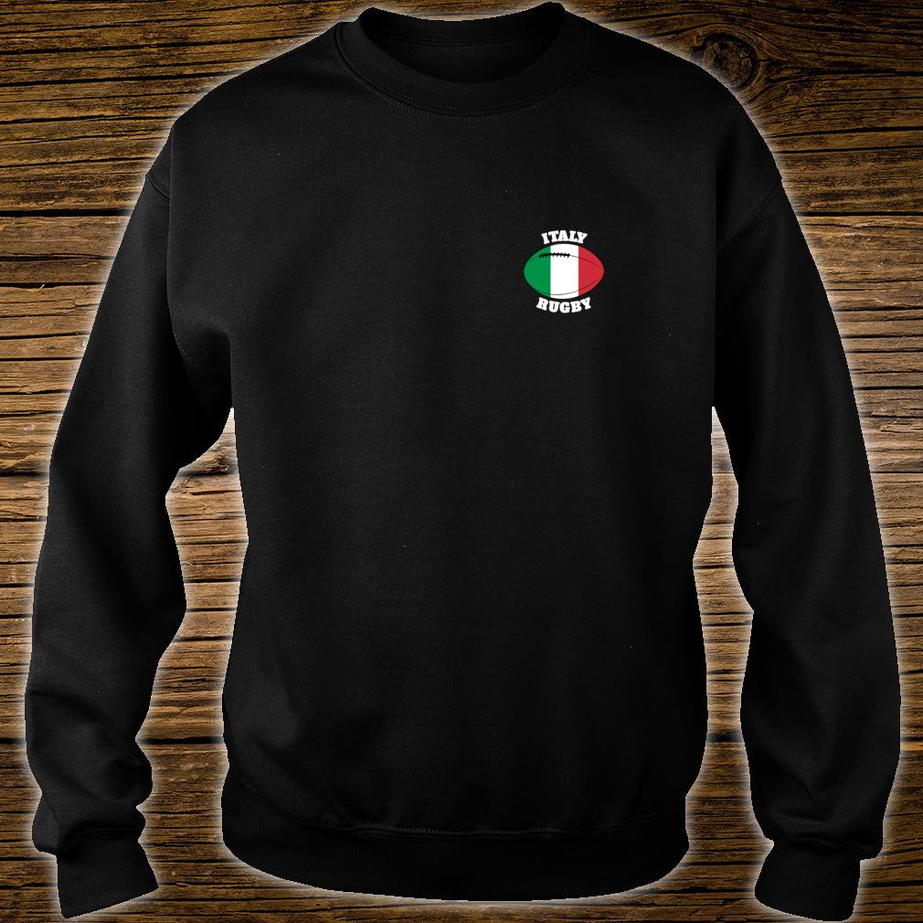 Italy Rugby Ball Flag Italian Rugby Fans 2020 Shirt sweater