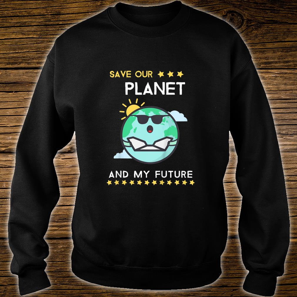 Kids Earth Day 2020 Climate Change Activism Shirt sweater