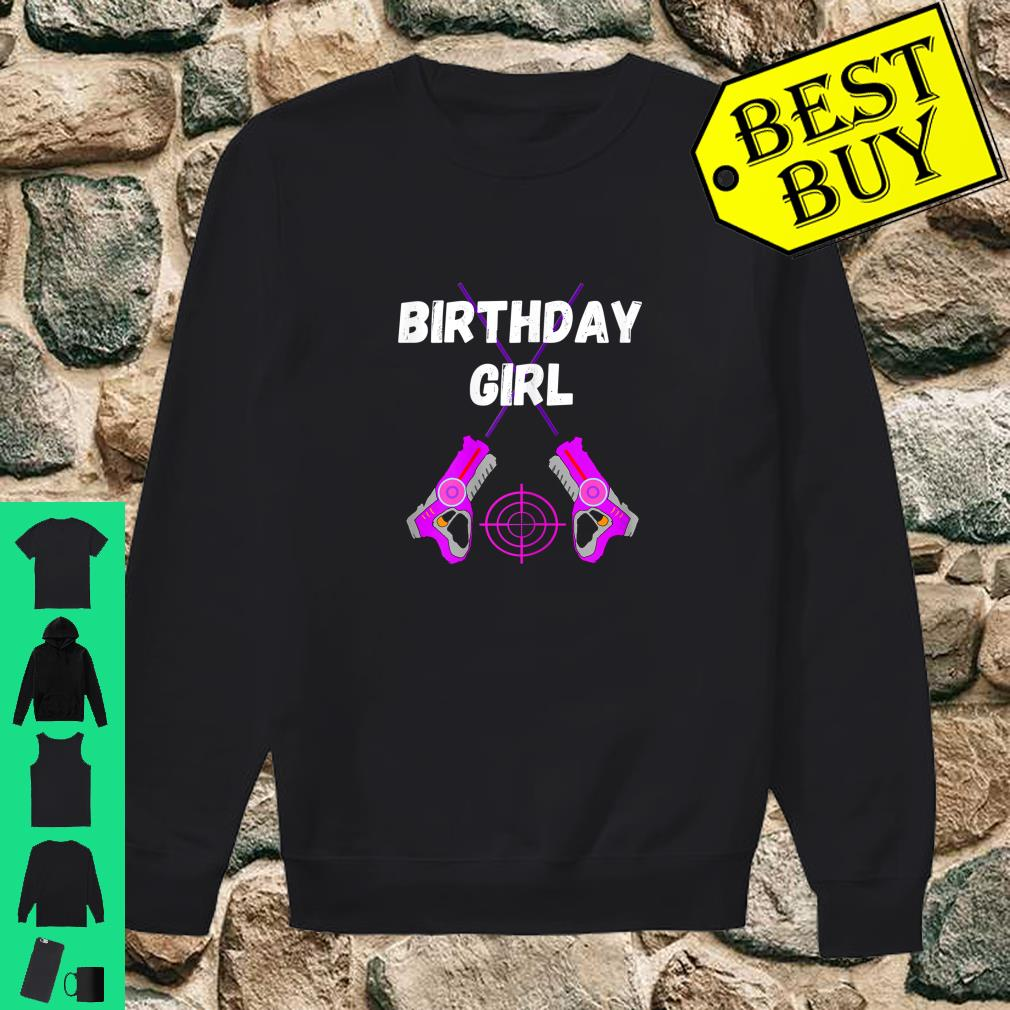 Laser Tag Birthday Girl Party Indoor Lasertag Game Player Shirt sweater