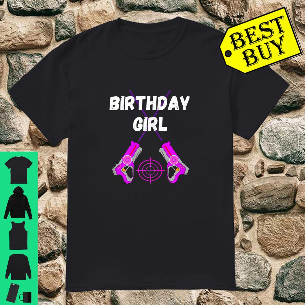Laser Tag Birthday Girl Party Indoor Lasertag Game Player Shirt