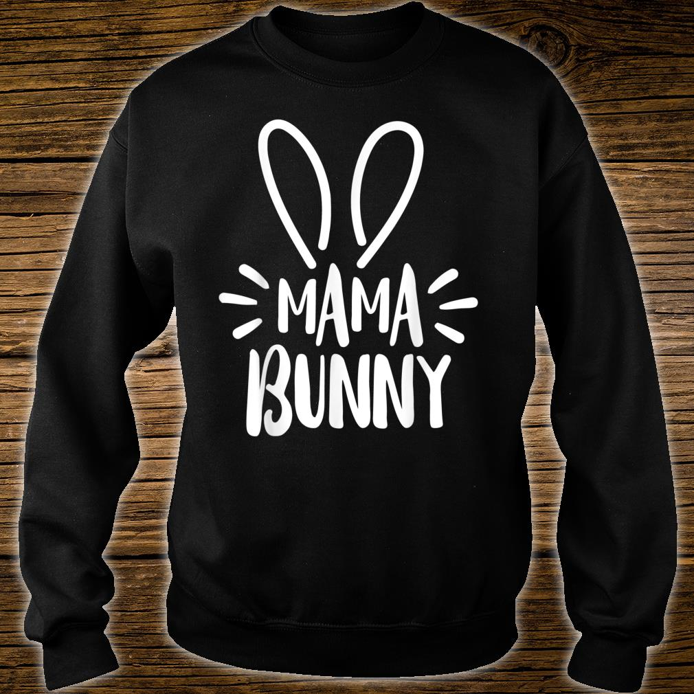 Mama Bunny Easter Pregnant Mom Shirt sweater