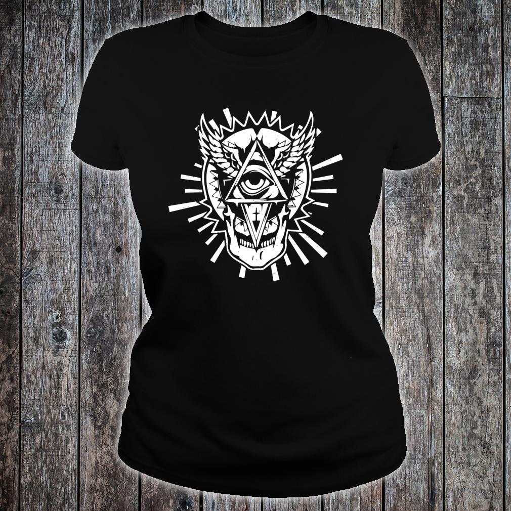 Occultism & All seeing Eye Mystic Blackcraftidea Tarot Shirt ladies tee