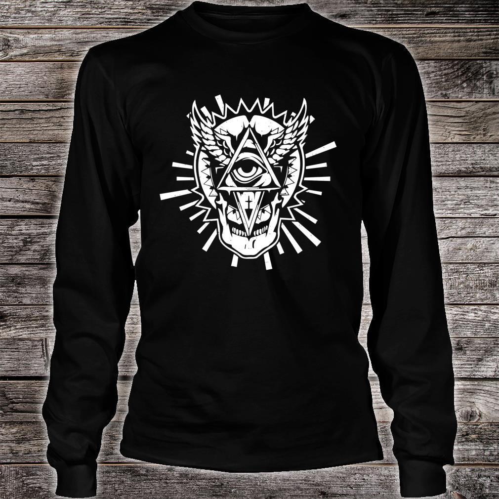 Occultism & All seeing Eye Mystic Blackcraftidea Tarot Shirt long sleeved