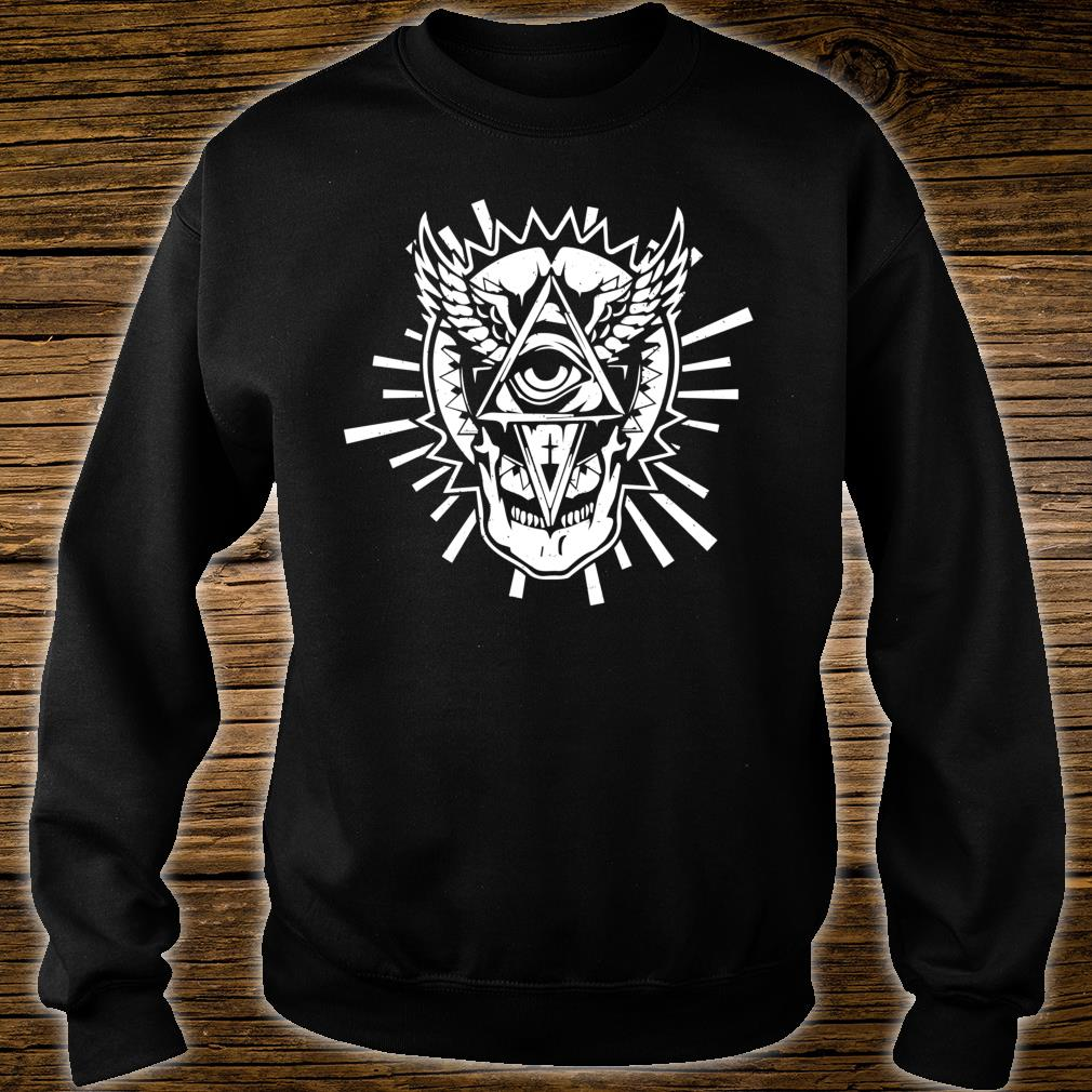 Occultism & All seeing Eye Mystic Blackcraftidea Tarot Shirt sweater