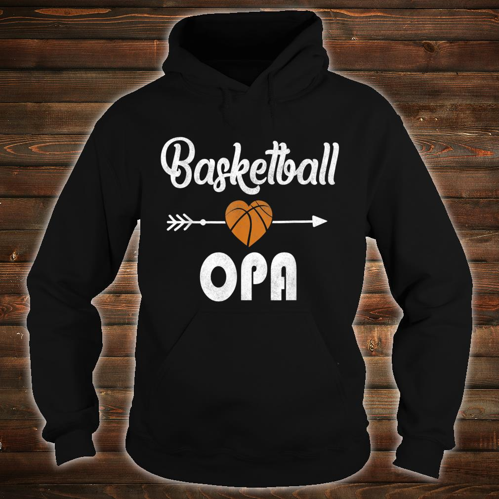 Opa Basketball Father's Day Shirt hoodie