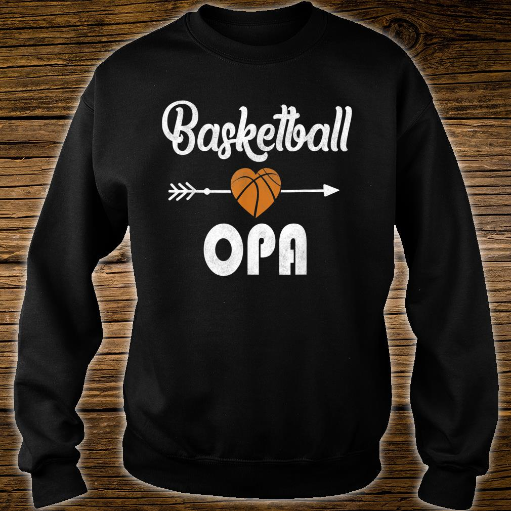 Opa Basketball Father's Day Shirt sweater