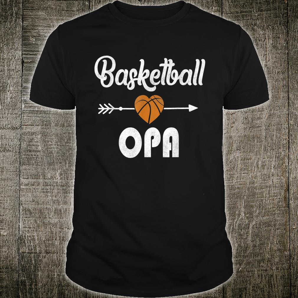 Opa Basketball Father's Day Shirt