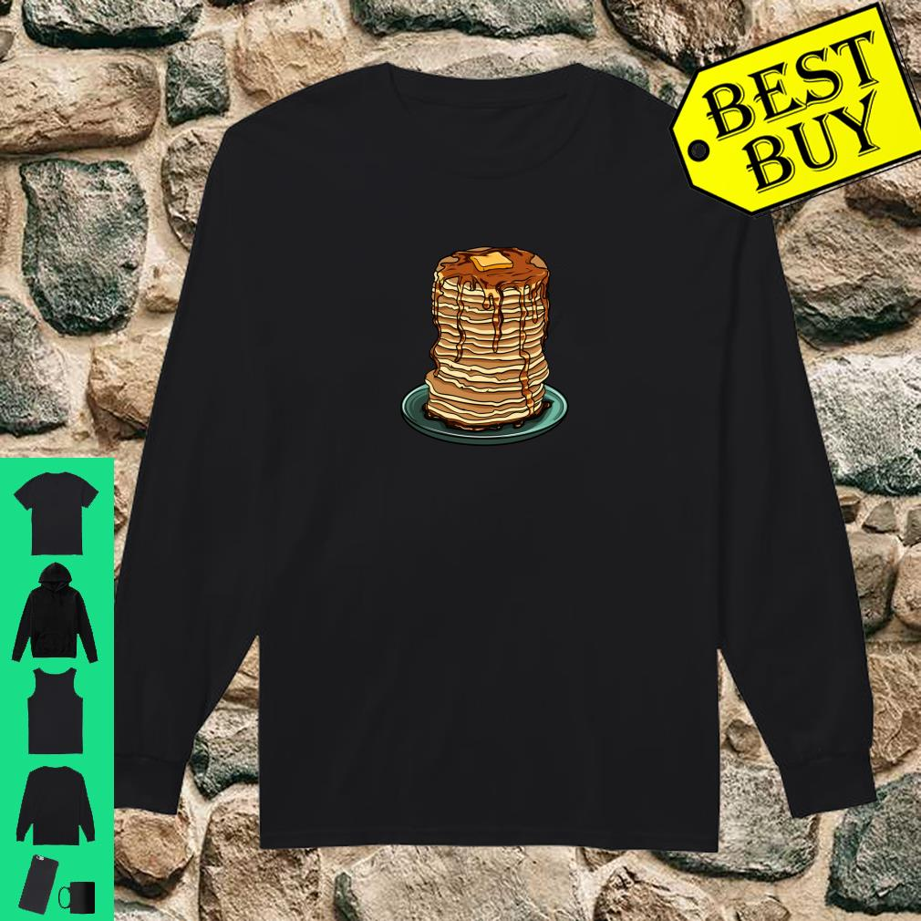 Pancakes Butter and Syrup Emoji For Breakfasts Shirt long sleeved