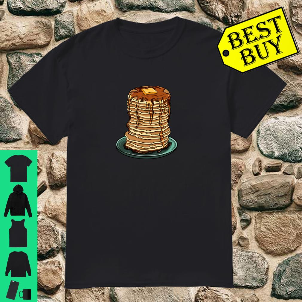 Pancakes Butter and Syrup Emoji For Breakfasts Shirt