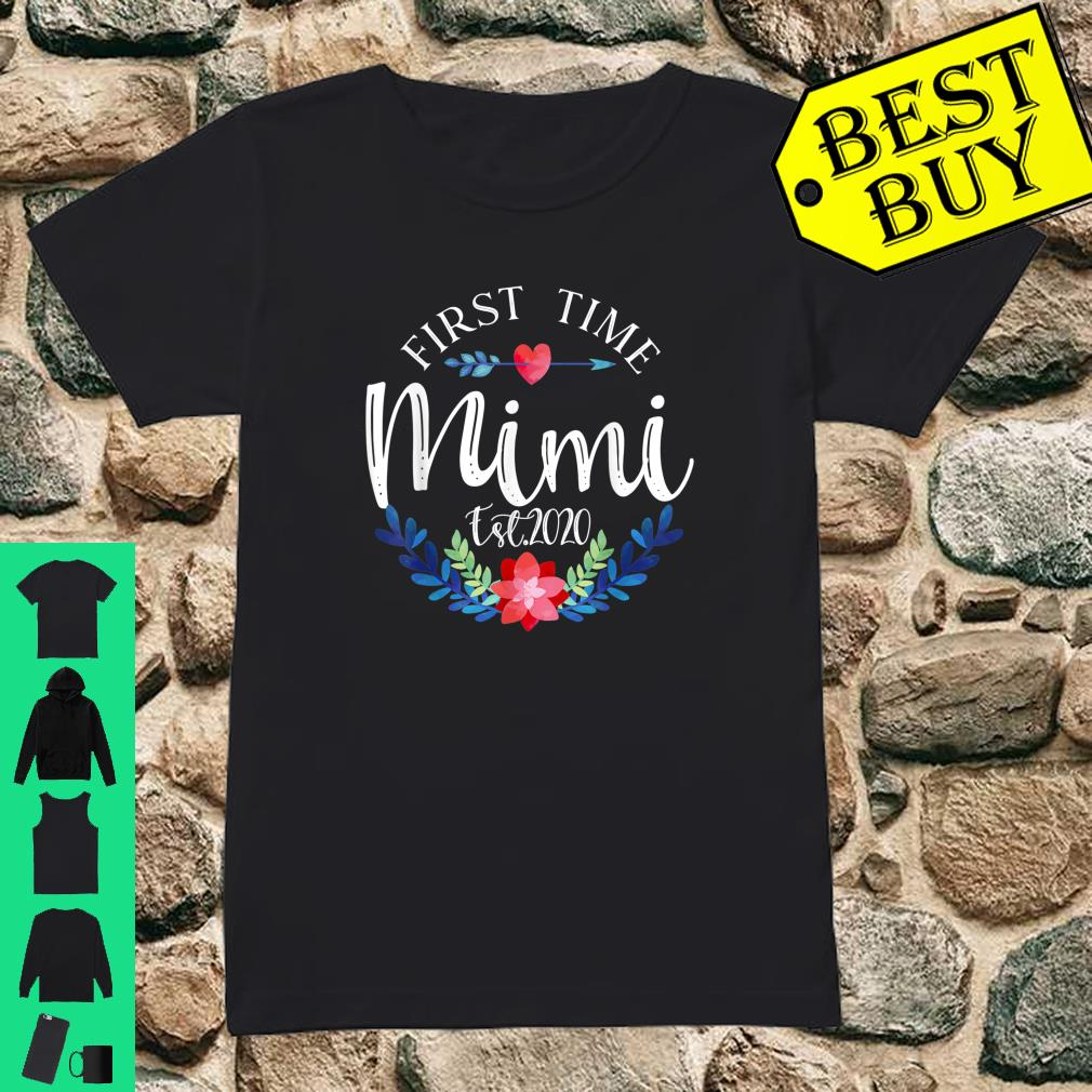 Promoted to mimi Est 2020 First Time grandma Shirt ladies tee