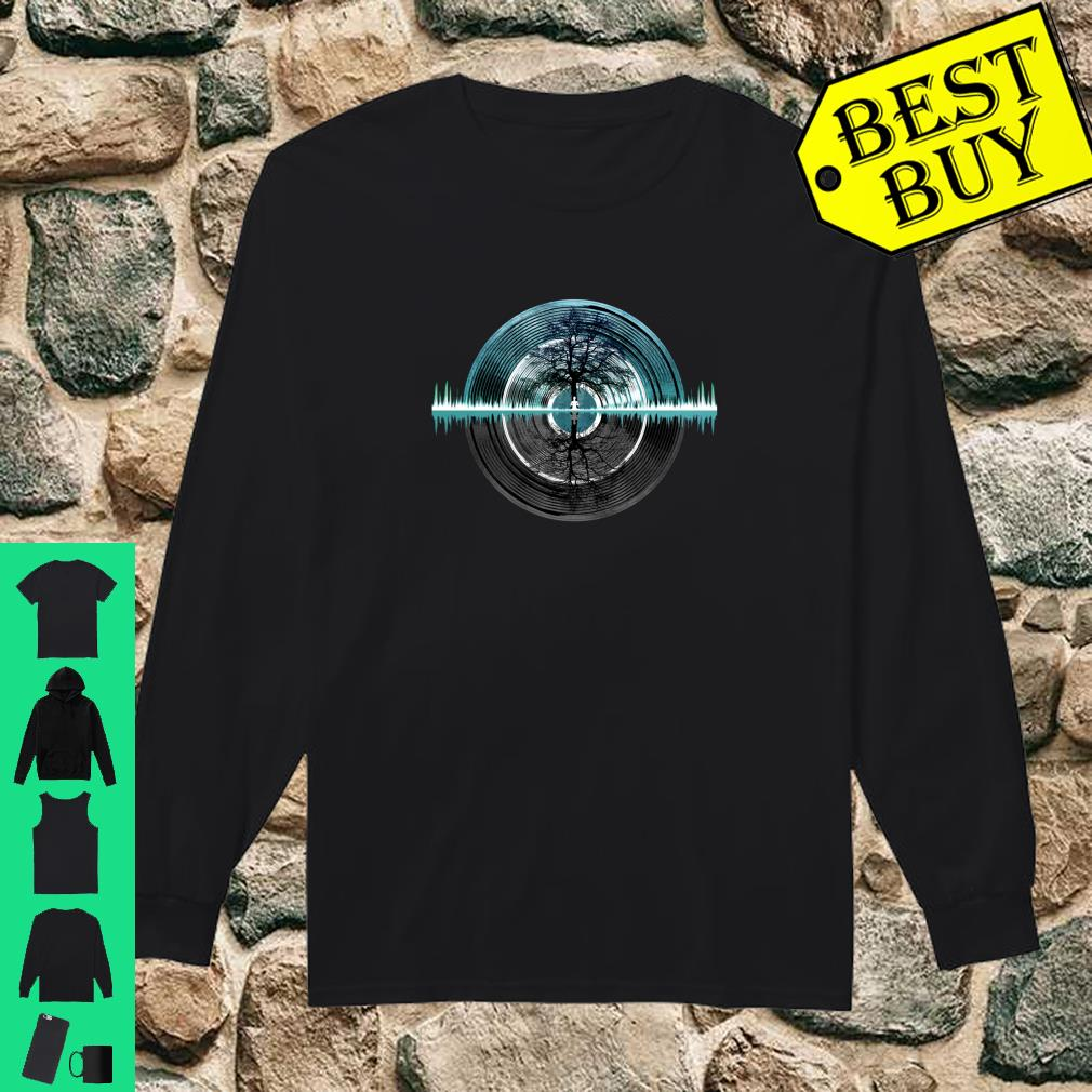 Returning To Silence Turquoise Blue Shirt long sleeved