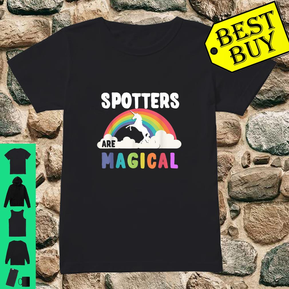 Spotters Are Magical Shirt ladies tee