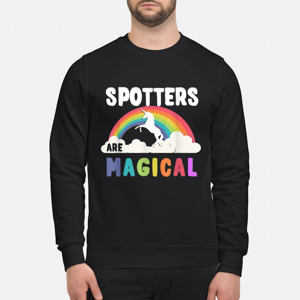 Spotters Are Magical Shirt sweater