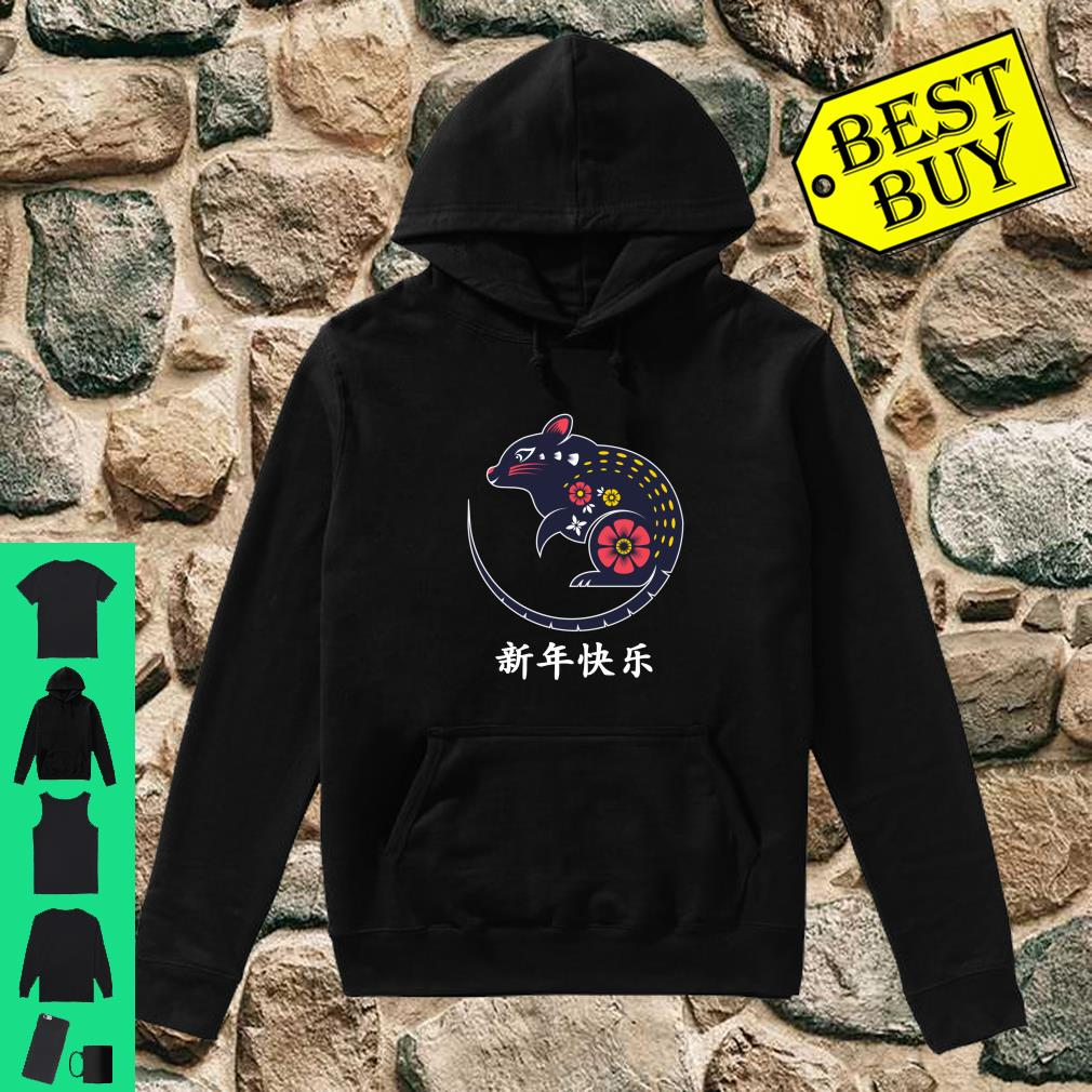 Year Of The Rat Chinese New Year 2020 Chinese Astrology shirt hoodie